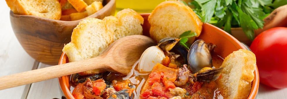 Le zuppe di pesce desinare scuola di cucina a firenze - Corso cucina firenze ...