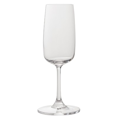 Set of 6 flute glasses