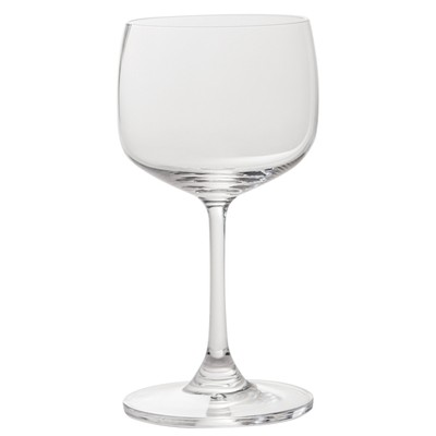 Set of 6 white wine glasses