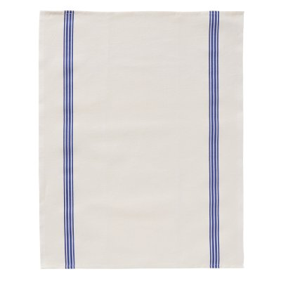 Tea towel, blue stripe